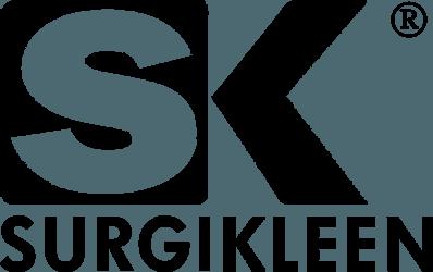 SurgiKleen® logo in black and white