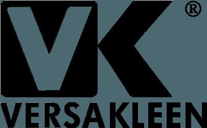 VersaKleen®logo in black and white