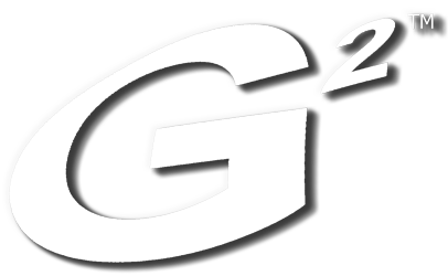 Image showing G2 Automated Technologies, LLC G2 logo in white with drop shadow